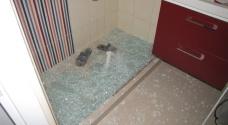 Bezpečnostní sklo v koupelně