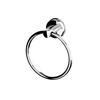 12050100 Věšák na ručník kruhový - chrom
