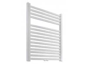 PRIMO-N/MM Koupelnový žebřík (radiátor) - bílý v. 1160 mm, š. 500 mm, středové připojení