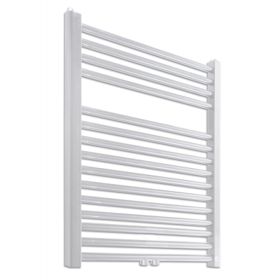 PRIMO-N/MM Koupelnový žebřík (radiátor) - bílý v. 764 mm, š. 500 mm, středové připojení