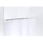 55100 Tyč pro sprchový závěs, teleskopická - chrom 70 - 115 cm, průměr tyče 25 mm