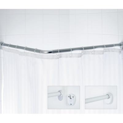 59000 Tyč pro sprchový závěs, rohová - chrom 80 × 80 cm