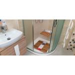 A0020200 Sedačka do sprchy sklopná, nosnost 150 KG - bambus