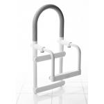 A00300101 Madlo pro vstup do vany - bílá 60 - 130 mm