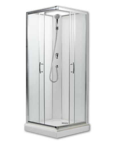 ARTTEC SMARAGD NEW 80 Arttec sprchový box  model 1 clear