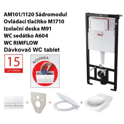 Set 5v1 AM101/1120, WC Rimflow + P169