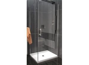 ALFA COMBI 95 x 80 cm Clear Well Luxusní sprchová zástěna
