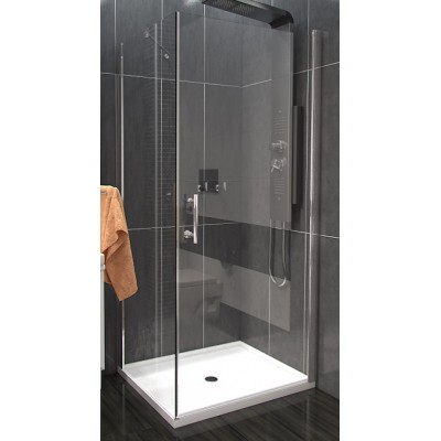 ALFA COMBI 90 x 70 cm Clear Well Luxusní obdélníková sprchová zástěna