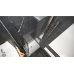 ALFA COMBI 80 x 100 cm Clear Well Luxusní sprchová zástěna