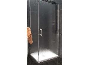 ALFA COMBI 100 x 90 cm Grape Well Luxusní obdélníková sprchová zástěna