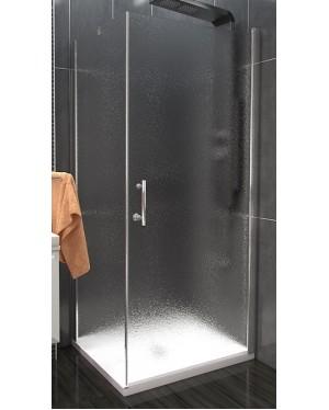 ALFA COMBI 80 x 90 cm Clear Well Luxusní sprchová zástěna
