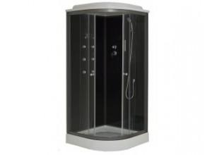 SCARLET 90 STONE Arttec Sprchový box s vaničkou z litého mramoru
