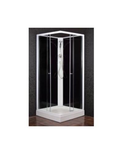 KODIAK 90 STONE - Sprchový box s vaničkou z litého mramoru