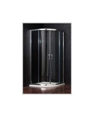 BRILIANT 100 clear NEW Arttec Sprchový kout čtvrtkruhový