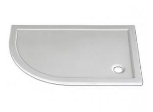 STONE 1080R P - sprchová vanička čtvrtkruhová pravá