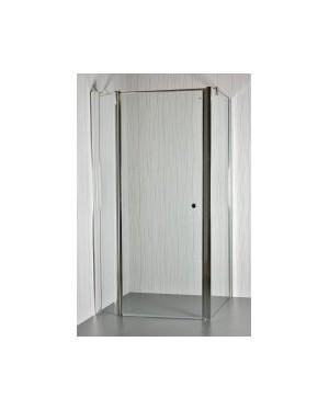 MOON D25 - Sprchový kout clear - 111 - 116 x 86,5 - 88 x 195 cm