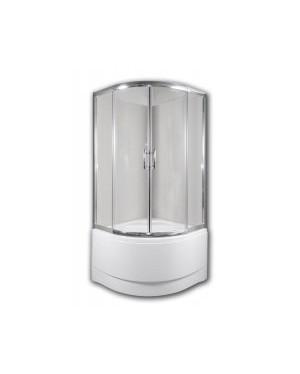 CALYPSO 90 Clear Arttec Sprchový kout s vysokou vaničkou