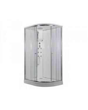SIRIUS Arttec Masážní sprchový box model 4 clear pravá