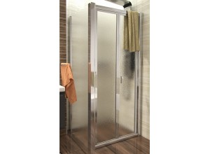 DELTA COMBI 110x80 Grape Well Sprchový kout se zalamovacími dveřmi
