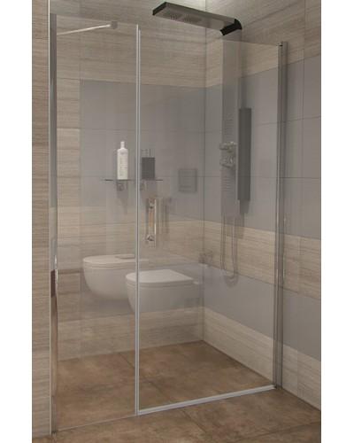GAMA 130×190 cm čiré Well sprchové dveře do niky