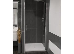 ALFA 90 Čiré Well Sprchové dveře do niky