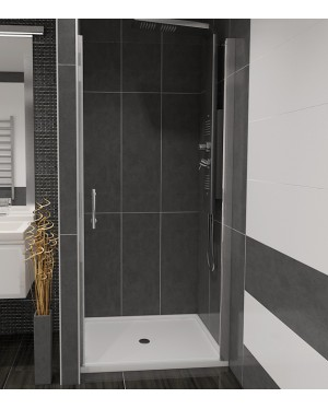 ALFA 60 Čiré Well Sprchové dveře do niky