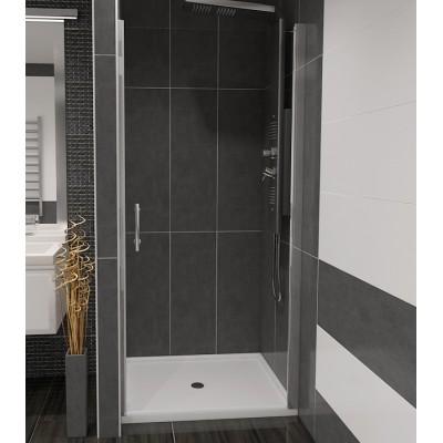 ALFA 100 Čiré Well Sprchové dveře do niky