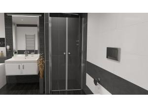 BETA 91 Čiré Well Sprchové dveře do niky dvoukřídlé