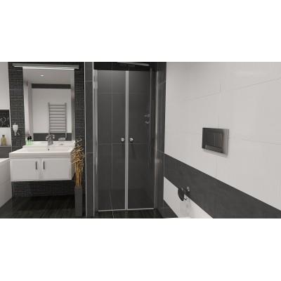 BETA 81 Čiré Well Sprchové dveře do niky dvoukřídlé