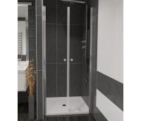 BETA 100 Čiré Well Sprchové dveře do niky dvoukřídlé