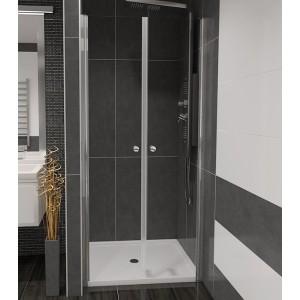 BETA 110 Čiré Well Sprchové dveře do niky dvoukřídlé