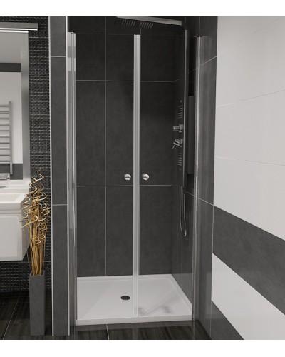 BETA 113 Čiré Well Sprchové dveře do niky dvoukřídlé