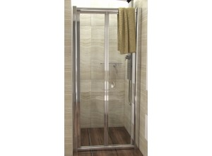 DELTA 90 Clear Well Sprchové dveře zalamovací