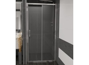 NICOL 110 čiré Well sprchové dveře do niky