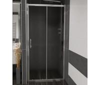 NICOL 130 grape Well sprchové dveře do niky