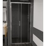 NICOL 120 grape Well sprchové dveře do niky