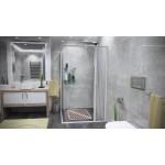 CLERMONT 80-110 x 80-110 Well Sprchová zástěna shrnovací