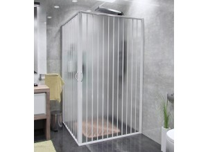 CLERMONT 80 - 110 x 80 - 110 Well Sprchová zástěna shrnovací