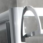 Levý díl sprchového koutu 80 cm TOE3G 0800 04 44