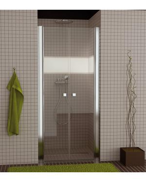 SL2 1000 50 22 SanSwiss Sprchové dveře dvoukřídlé 100 cm