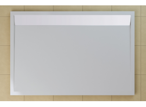 Sprchová vanička obdélníková 90×150 cm bílá, kryt bílý WIA 90 150 04 04