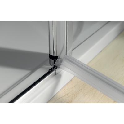 Díl sprchového koutu dvoudílný otočný - sklo čiré ONE GO4811