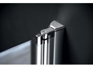 Díl sprchového koutu dvoudílný otočný - sklo čiré ONE GO4880