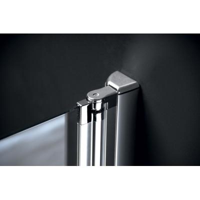 Díl sprchového koutu dvoudílný otočný - sklo čiré ONE GO4890
