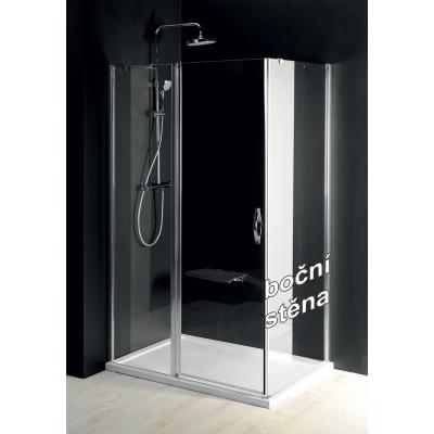 Boční stěna sprchová - sklo čiré ONE GO3580