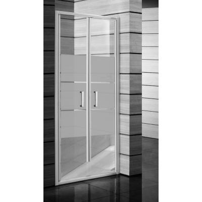 Sprchové dveře kyvné 90, stripy 2.5638.2.000.665.1
