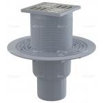 Podlahová vpusť přímá nerez 105×105/50/75 APV2321