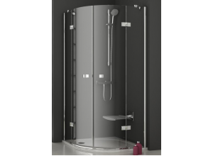 Ravak SmartLine SMSKK4-90 chrom+transparent sprchový kout čtvrtkruhový