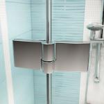 Ravak SmartLine SMSRV4-90 chrom+transparent sprchový kout rohový
