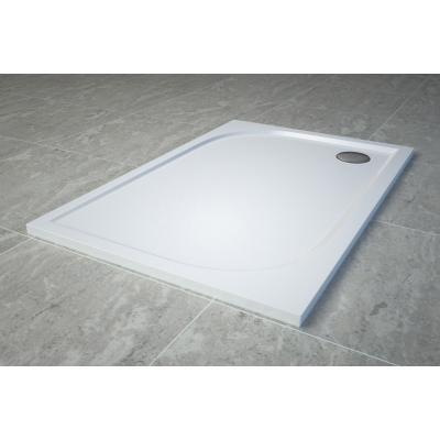 WAA 80 100 04 SanSwiss Sprchová vanička obdélníková 80×100 cm - bílá